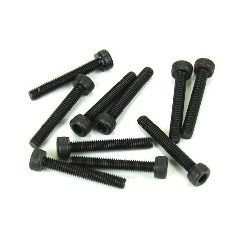 TKR1529-3x20mm Cap Head Screws (black, 10pcs)