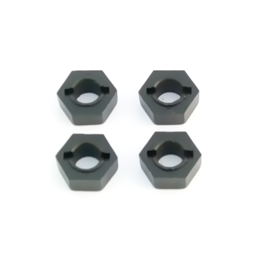 TKR1654-12mm Hex Adapters for M6 Driveshafts (front/rear, Slash/Stmpd 4×4, 2WD, 4pcs)