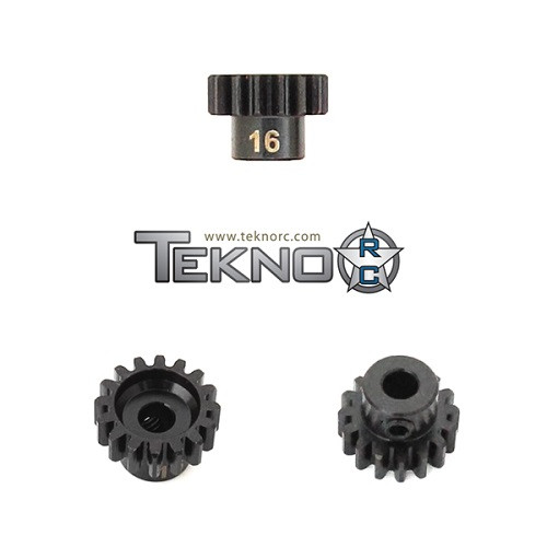 TKR4176 – M5 Pinion Gear (16t, MOD1, 5mm bore, M5 set screw)