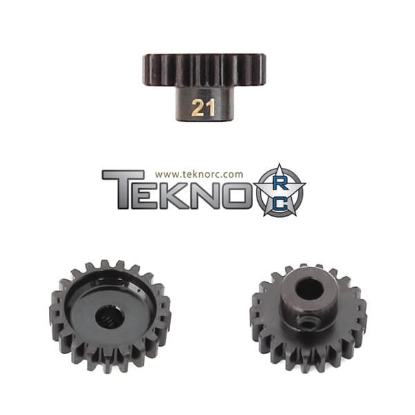TKR4181 – M5 Pinion Gear (21t, MOD1, 5mm bore, M5 set screw)