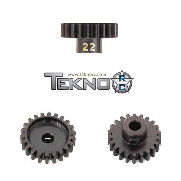 TKR4182-M5 Pinion Gear (24t, MOD1, 5mm bore, M5 set screw)