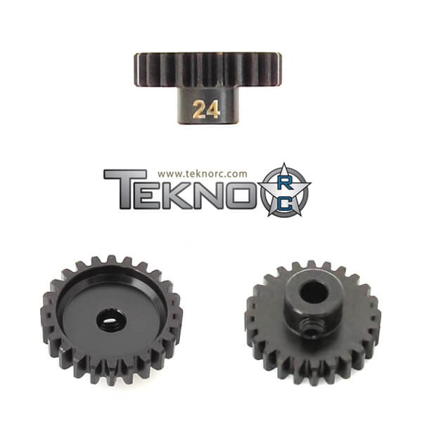 TKR4184 – M5 Pinion Gear (24t, MOD1, 5mm bore, M5 set screw)
