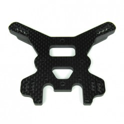 TKR5029C-Shock Tower (rear, carbon fiber, 4mm)