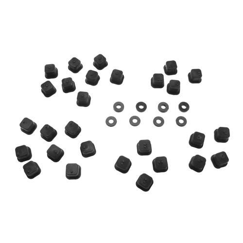 TKR5165-V2 Hinge Pin Inserts, Wheelbase Shims (EB/NB/ET/NT/SCT)