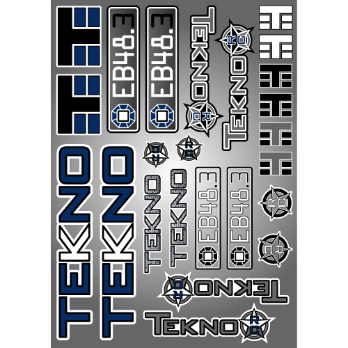 TKR5259-Decal/Sticker Sheet (EB48.3)