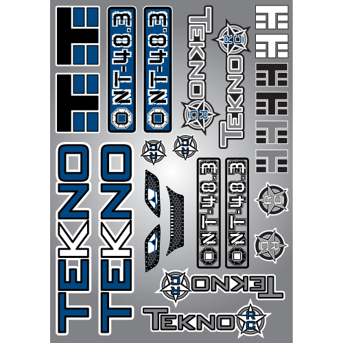 TKR5417-Decal/Sticker Sheet (NT48.3)