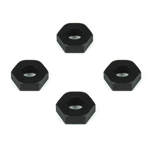 TKR5571-Wheel Hexes (12mm, composite, 4pcs)