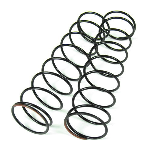 TKR6034-Shock Spring Set (rear, 1.4×9.0T, 85mm, red)