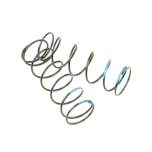 TKR6040-Shock Spring Set (front, 1.5 x 6.75, 5.65lb/in, 70mm, blue)