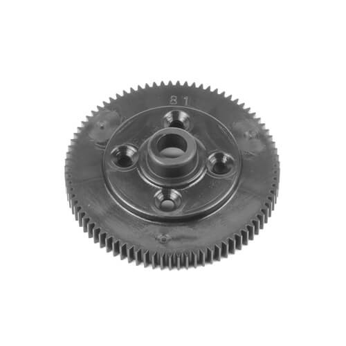 TKR6522B-Spur Gear (revised material, 81t, 48pitch, black, EB410.2)