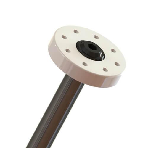 TKR6736-Shock Pistons (CNC, 8×1.1, flat/flat, 13mm, 2pcs)