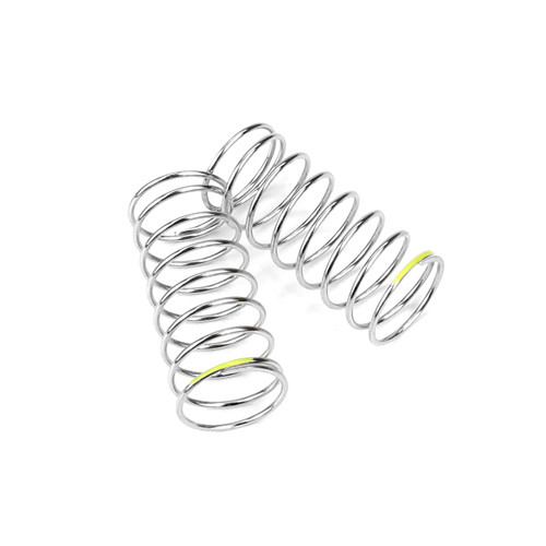 TKR6785-Shock Spring Set (front, 1.3×8.5, 3.41lb/in, 45mm, yellow)