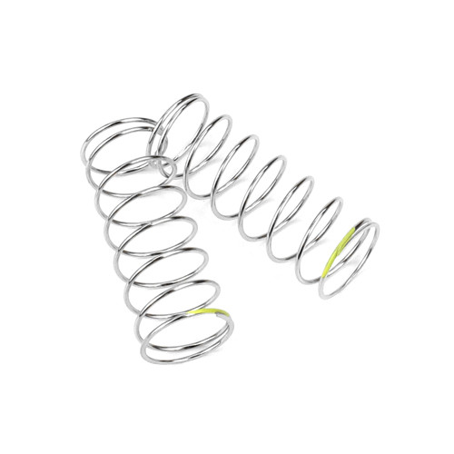 TKR6795-Shock Spring Set (rear, 1.2×8.25, 2.6lb/in, 53mm, yellow)