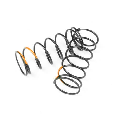 TKR7044-Shock Spring Set (front, 1.4×7.125, 5.75lb/in, 50mm, orange)