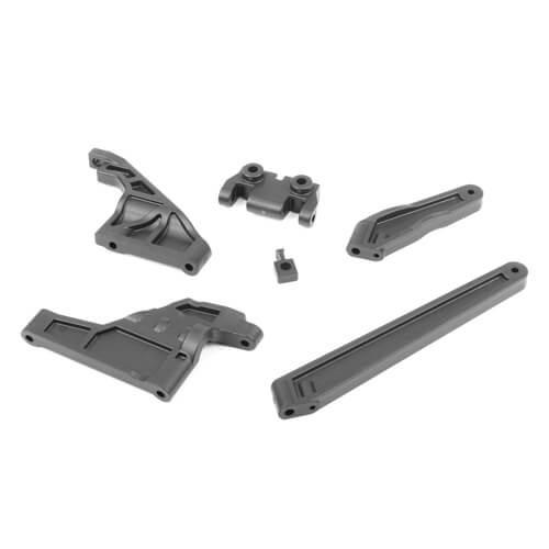 TKR9062B-Chassis Brace Set (revised, front/rear/center, EB/ET48 2.0)