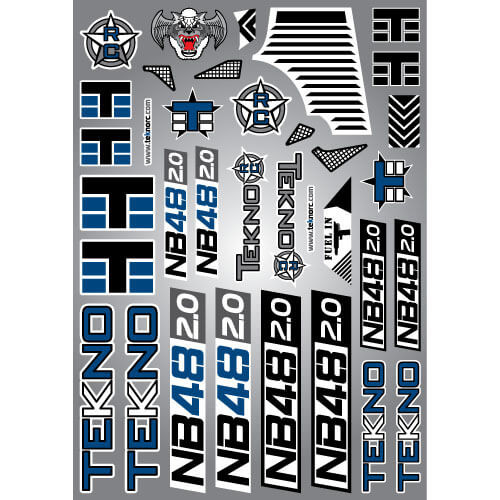 TKR9349-Decal Sheet (NB48 2.0)
