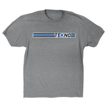 Tekno RC T-Shirt Gr.XL(horizontal design, lightweight, graphite heather)