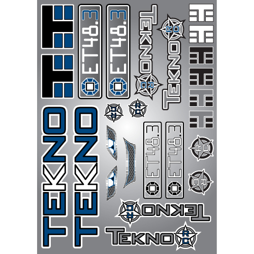 TKR5617-Decal/Sticker Sheet (ET48.3)