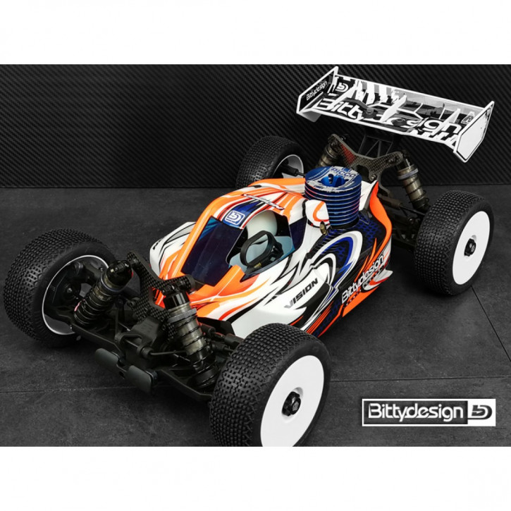 Bittydesign Vision Tekno NB48 2.0 Body Clear (precut)