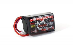 Vampire Racing 1900mAh 6.6V LiFe Hump RX