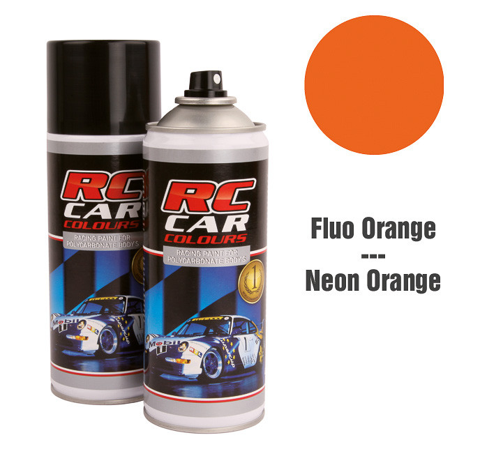 Lexan Spray Fluo Dunkel Orange 1011 150 ml