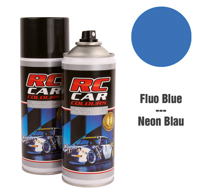 Lexan Spray Fluo Blau 150 ml