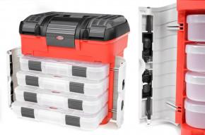 Team Corally - Pit Koffer - 4 Sortimentsbox Schubladen - Universal Schaumeinlage