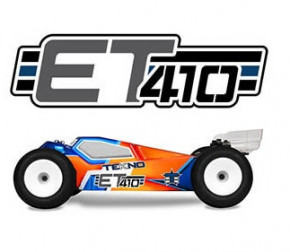TEKNO ET410 1/10th 4WD Competition Electric Truggy +Crash Kit