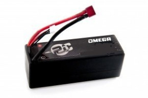 Omega Lipo Battery 6200 mAh 15.2 High Voltage120C