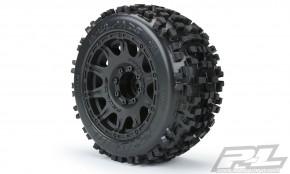 Pro-Line Badlands 3.8Zolll auf Raid 8x32 Felge 17mm MT v/h (Removeable Hex)