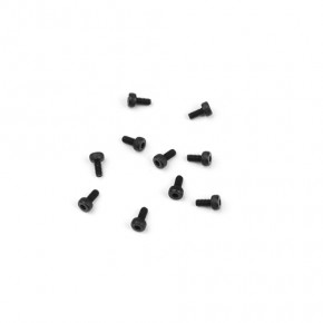 TKR1248-M2x4mm Cap Head Screws (black, 10pcs)