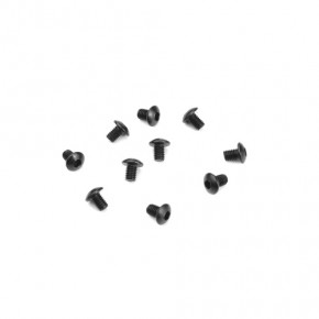 TKR1400-M3x4mm Button Head Screws (black, 10pcs)