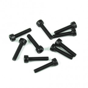 TKR1524-3x12mm Cap Head Screws (black, 10pcs)