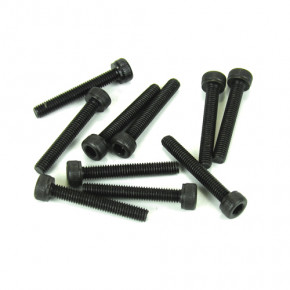 TKR1529-3x20mm Cap Head Screws (black, 10pcs)