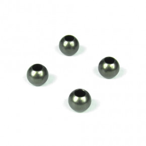 TKR5049A – Pivot Balls (6.8mm, no flange, sway bars, shock ends, aluminum, 4pcs)