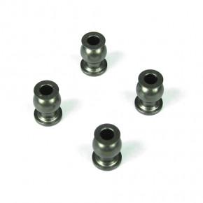 TKR5052A-Pivot Balls (6.8mm, inside camber, steering links, aluminum, 4 Stück)
