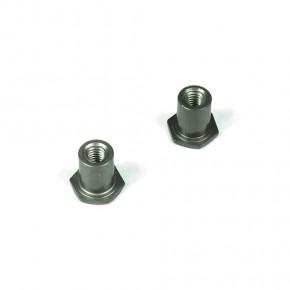 TKR5122-Steering Rack Bushings (aluminum, gun metal anodized, 2 Stück)