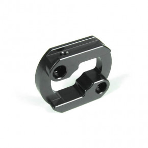 TKR5211X – Motor Mount Insert (aluminum, gun metal anodized, lightened)