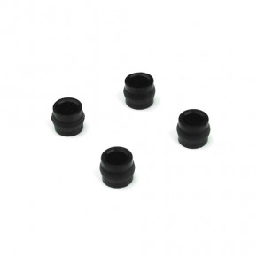 TKR6007-Shock Cap Bushings (4pcs, EB/NB/ET/NT/SCT)
