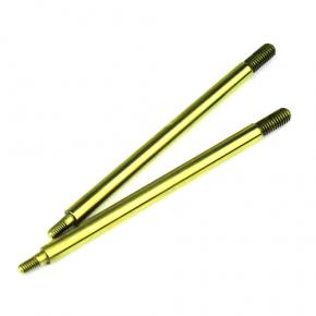 TKR6017T-Shock Shafts w/ TiNi Coating (for 122mm shocks, steel, 2pcs)