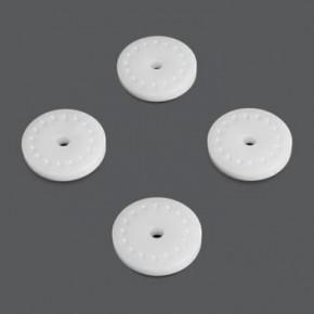 TKR6163-Shock Piston Blanks (CNC, flat/flat, 16 dimples)