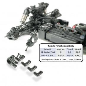 TKR6553X-Adjustable Ackermann Spindles (L/R, EB/ET410)