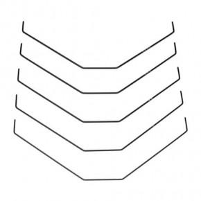 TKR6611-Sway Bar Set (rear, bars only, 1.0, 1.1, 1.2, 1.3, 1.4mm, EB410/ET410)