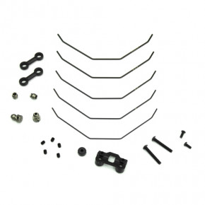 TKR6623-Sway Bar Kit (complete front, 1.0, 1.1, 1.2, 1.3, 1.4mm, EB410)