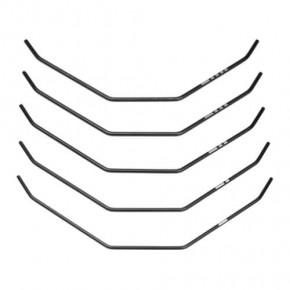 TKR6624-Sway Bar Set (front, bars only, 1.5, 1.6, 1.7, 1.8, 1.9mm, EB410/ET410)