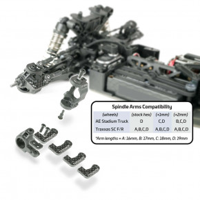 TKR6669B-Spindle Arms (L/R, EB/ET410, requires TKR6553X, Type B)