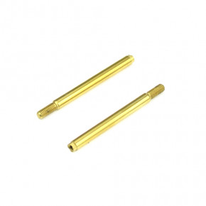 TKR6703T-Shock Shafts (front, steel, TiNi coated, EB410, 2pcs)