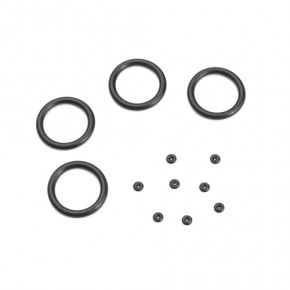 TKR6714-Emulsion O-ring Set (4x cap seals, 8x emulsion o-rings, for 13mm shocks)