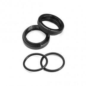 TKR6719A -Shock Adjustment Collars (aluminum, EB410, 2pcs)