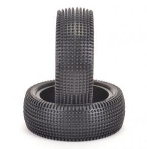 U6840-1:10 Schumacher Cactus - Front - 4WD Reifen - Gelb (2 Stück)